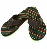 Warrior Riot Thong Sandals - Black/Multi