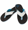 Warrior Riot Thong Sandals - Black/White