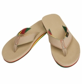 Warrior Swag Thong Sandals - Khaki