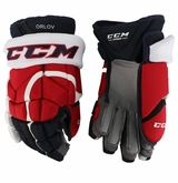 Washington Capitals CCM 12 Pro Stock Hockey Gloves - Orlov