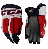 Washington Capitals CCM 3 Pro Stock Hockey Gloves - Williams
