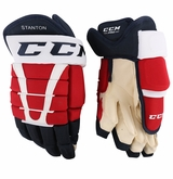 Washington Capitals CCM 96 Pro Stock Hockey Gloves - Stanton