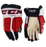 Washington Capitals CCM Crazy Light Pro Stock Hockey Gloves