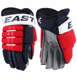 Washington Capitals Easton Pro Stock Hockey Gloves - Wolski (Standard)