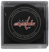 Washington Capitals Official NHL Game Puck with Cube