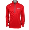 Washington Capitals Reebok Baselayer Quarter Zip Pullover Performance Jacket