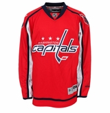 Washington Capitals Reebok Edge Premier Youth Hockey Jersey