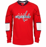 Washington Capitals Reebok Edge Sr. Long Sleeve Jersey Tee