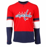 Washington Capitals Reebok Face-Off Jersey Sr. Long Sleeve Shirt