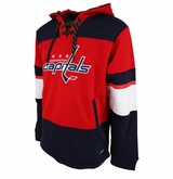 Washington Capitals Reebok Face-Off Team Jersey Sr. Hooded Sweatshirt