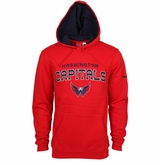 Washington Capitals Reebok Faceoff Playbook Sr. Pullover Hoody