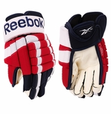 Washington Capitals Reebok Pro Stock Hockey Gloves