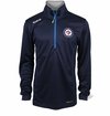 Winnipeg Jets Reebok Baselayer Quarter Zip Pullover Performance Jacket