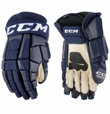 Winnipeg Jets CCM Crazy Light Pro Stock Hockey Gloves
