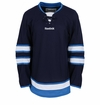 Winnipeg Jets Reebok Edge Gamewear Uncrested Junior Hockey Jersey