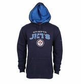 Winnipeg Jets Reebok Face-Off Playbook Sr. Pullover Hoody