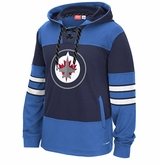 Winnipeg Jets Reebok Face-Off Team Jersey Sr. Hooded Sweatshirt