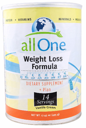 All-1's Weight Loss Formula Unflavored Powder 14.8oz