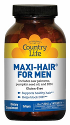 Country Life's Maxi Hair For Men 60 Count