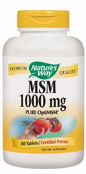 Nature's Way MSM 1000mg 200Tabs