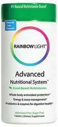 Rainbow Light's Advanced Nutritional System 180Tabs