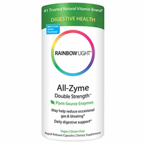 Rainbow Light's All-Zyme Double Strength 120Caps