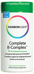 Rainbow Light's Complete B Complex Nutritional System 90Caps