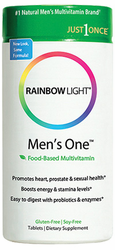 Rainbow Light's Men's One Energy Multi  150Tabs