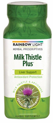 Rainbow Light's Milk Thistle Plus 500mg 60Tabs