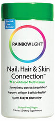 Rainbow Light's Nail, Hair & Skin Connection 60Tabs