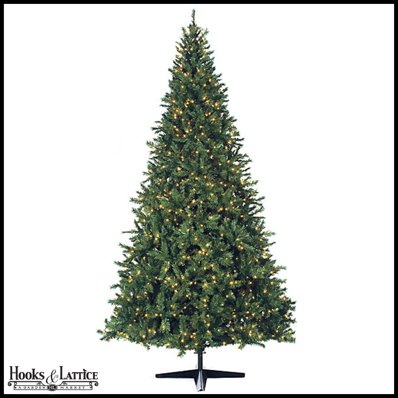 10-Ft Christmas Tree, Xmas Decor | Hooks and Lattice