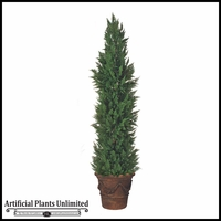 "108"" Outdoor Artificial Cypress"