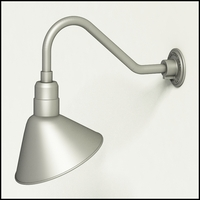"12"" Angle Shade Gooseneck Lighting"