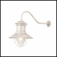 "12"" Barn Light Shade Gooseneck Lighting"