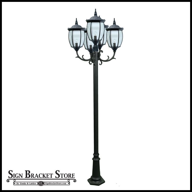 French Quarter Lamp Post Decorative Pole Light