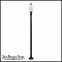 120v Powder Coated Cast Aluminum Exterior Lamp Post Light Fixture