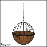 12in. Sphere Hanging Basket