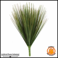 13in. PVC Onion Grass - Green|Indoor