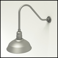 "14"" Warehouse Shade Gooseneck Lighting"