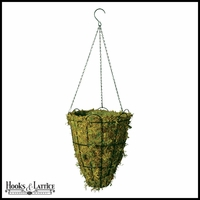14in. Beehive Hanging Basket with Mossmat