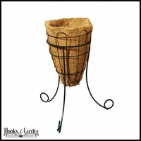 14in. Beehive Planter with Tripod Stand with Coco Liner