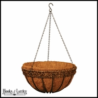 12in. Olde World Style Hanging Basket