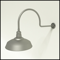 "16"" Warehouse Shade Gooseneck Lighting"