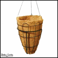 16in. Beehive Hanging Basket with Coco Liner