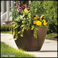 16in. Naples Bowl Planter