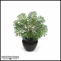 "17"" Neanthe Bella Palm - Green 