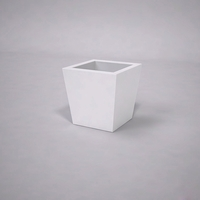 Urban Chic Tapered Premier Composite Commercial Planter 18in.L x 18in.W x 18in.H