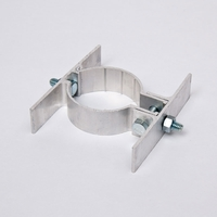 """2 3/8"""" Round Center Mount Sign Bracket - Double-sided"""
