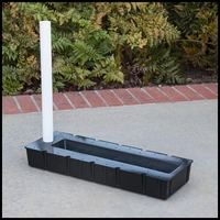 "25""Lx9""Wx3""H Rectangular Reservoir"