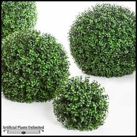 Ornamental Boxwood Topiary Balls - Outdoor